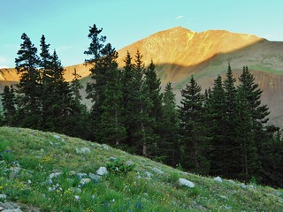 Cronin Peak in Alpenglow