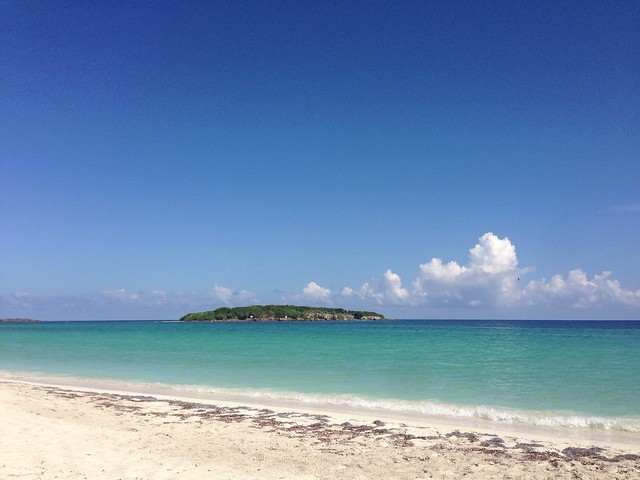 Blue beach, Vieques