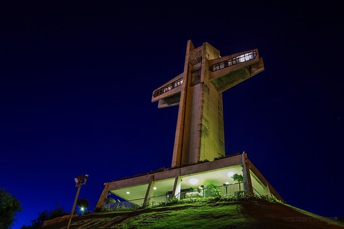 sky building architecture arquitectura cross nightshot puertorico cruz pr ponce cruceta olétusfotos crucetadelvigía thewatchmancross