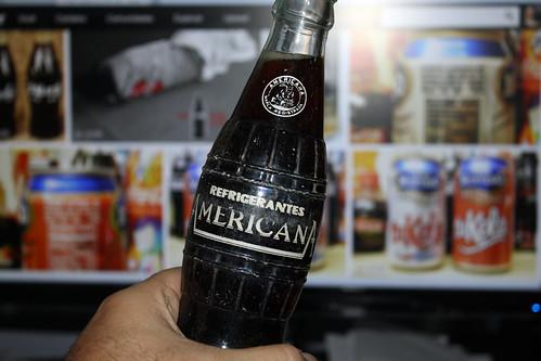 1950s Cola Americana Coca-Cola clone bottle in Juiz de Fora - Brazil by roitberg