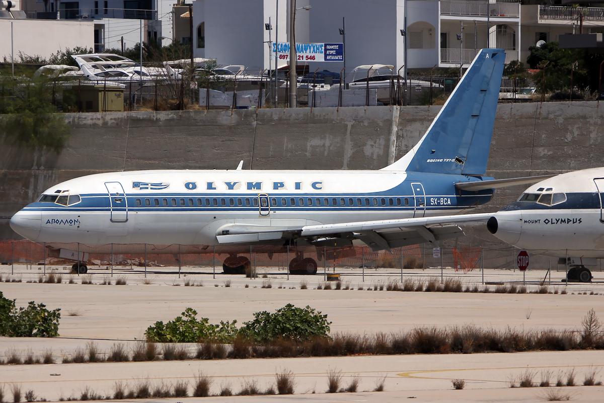 Olympic Boeing 737-200 SX-BCA