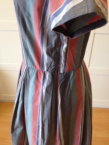 shirting stripe Vogue 9760 side zip