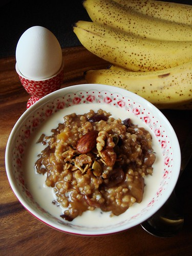 Slow Cooker Spiced Porridge For A Crowd