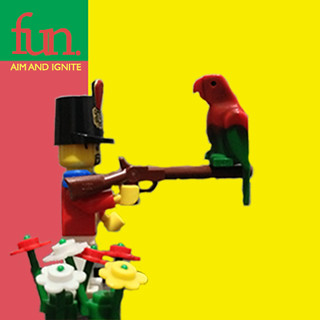 FUN. - Aim and Ignite album lego cover