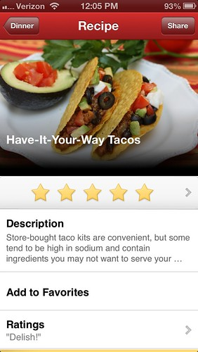 Meal Makeovers Cooking app on iTunes