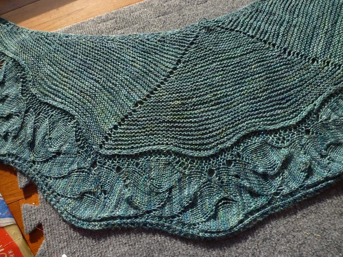 Canyonlands Shawl Detail  Full