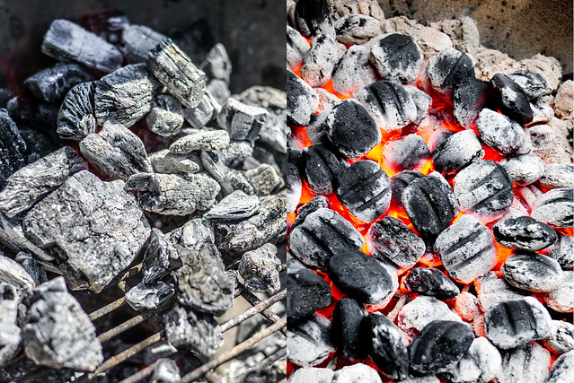 Hardwood Charcoal Briquettes ~ Lump charcoal march