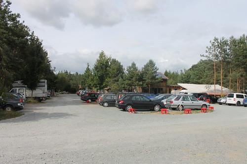 Parkplatz Sieben Linden