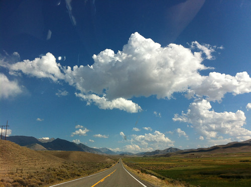 driving from Missoula to Ketchum