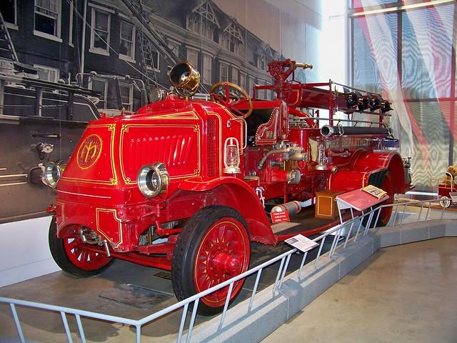 1918 AC Mack Fire Truck | Flickr - Photo Sharing!