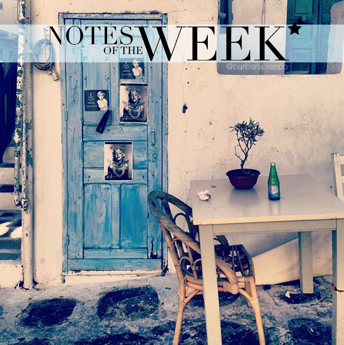 notes of the week instagram tumblr photography travels instavideo barbara crespo