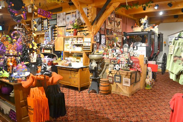 Gift shop at WFF