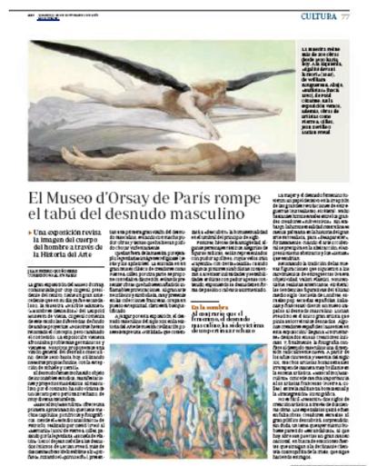 13i22 Desnudo masculino en el Museo d Orsay