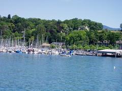 Lago Leman. Ginebra. Suiza