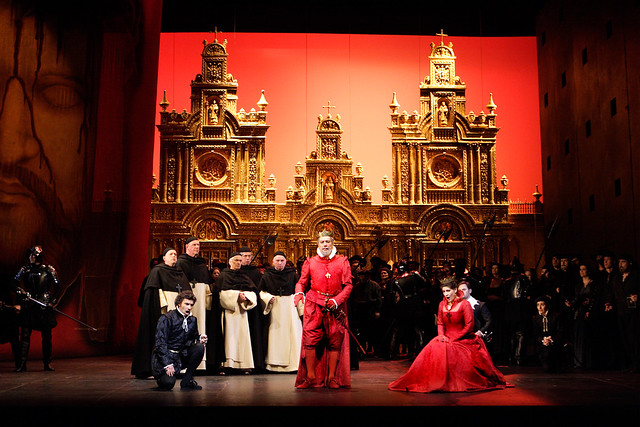 The Royal Opera in Don Carlo © ROH / Catherine Ashmore 2013