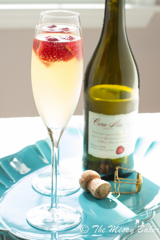 Strawberry Limoncello Sparkler | www.themessybakerblog.com -8565