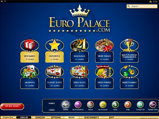 euro palace casino ipad