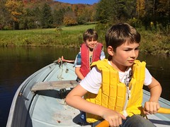 Fall Boys Row Pond