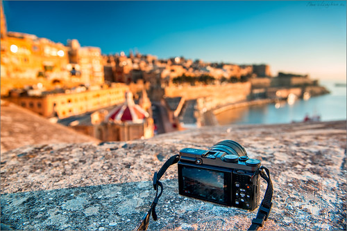 street city morning sea summer sunrise landscape bay town europe silent nobody malta silence valetta floriana