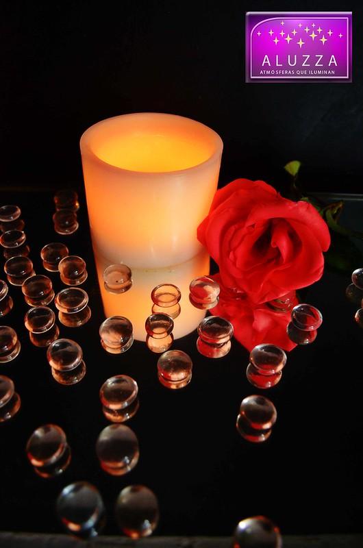 pantalla de cera cilindrica para centro de mesa o decoracion de eventos aluzza