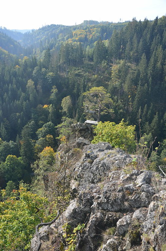 Hirschsprung hinunter in das Höllental