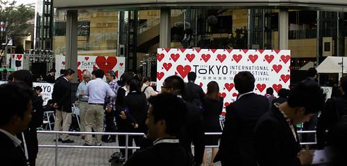 Tokyo International Film Festival 2013 (I). Ceremonia Apertura