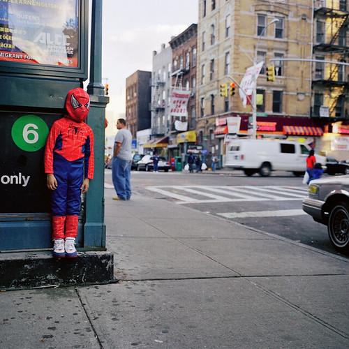 Amy Stein, Untitled (Spiderman), 2005
