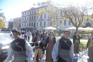 Σύλλογος Ποντίων Χανίων Η Ρωμανία παρέλαση 28ης Οκτωβρίου 4
