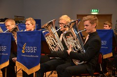Brassbandfestivalen 2012 - SYBB. Eufomiunsektionen: Johannes Forsberg och Axel Olesund
