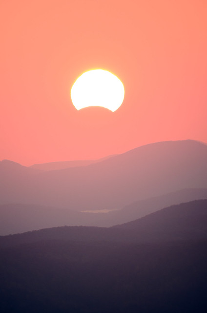 Eclipse from Boone, NC