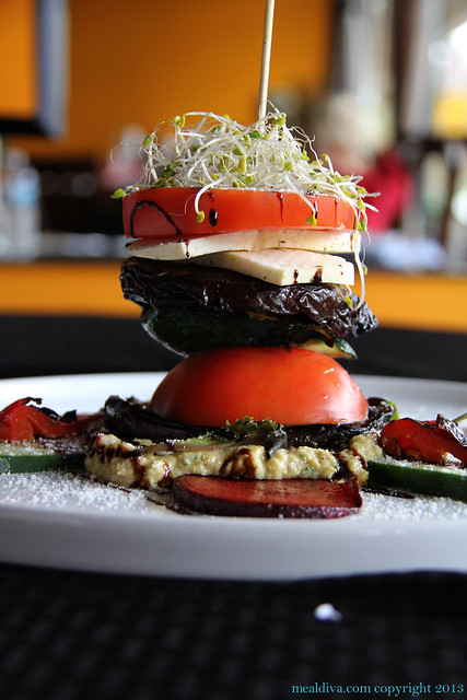 Moe's Bistro, Lebanon, Grilled Vegetable Tower