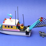 Friends Fishing Boat