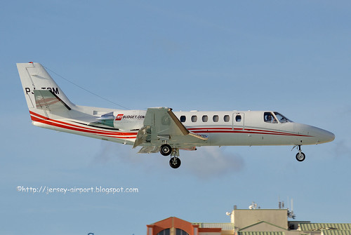 PJ-TOM  Cessna 560 Citation V by Jersey Airport Photography