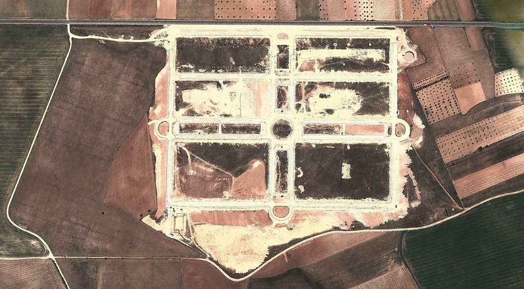 tarazona de la mancha, albacete, polígonos poligonots, adaptándose a las lindes, después, urbanismo, planeamiento, urbano, desastre, urbanístico, construcción, rotondas, carretera