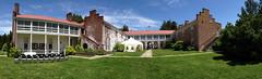 Virginia State Arboretum panorama w/distortion