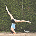 sirsasana variation - headstand by {IP} by Amelia