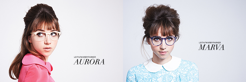 Leith x Warby Parker: Aurora Optical Daughter of Pearl & Marva Optical Cobalt Leaf | www.latenightnonsense.com