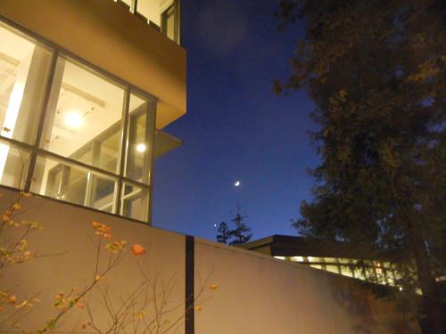 DSCN7572 _ New Moon & Venus, 5 December 2013