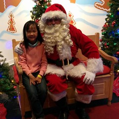 Of all the things Sally can say to Santa, she says,