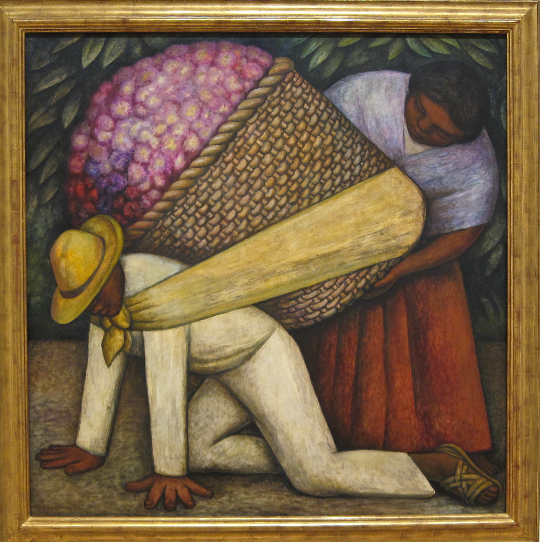 Diego Rivera The Flower Carrier 1935 Explore Sharon Moll…