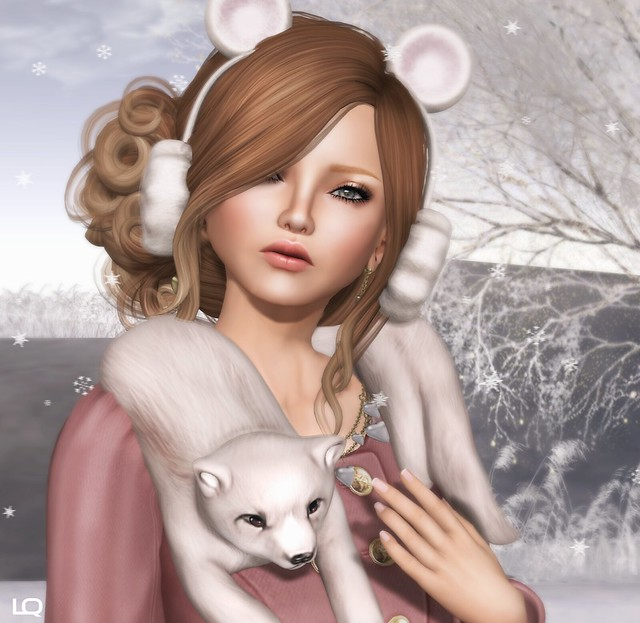 -Glam Affair - Kaelyn skin - America 03 D & Birdy Foxy Neck snuggler for C88