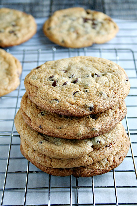 Chocolate Chip Peanut Butter PBCup Stiffed Cookies