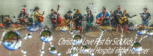McMaster Childrens Hospita. Love fest for sick Kids.
