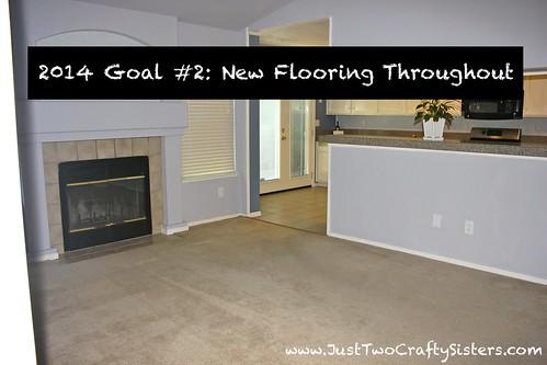 Goal #2- New Flooring