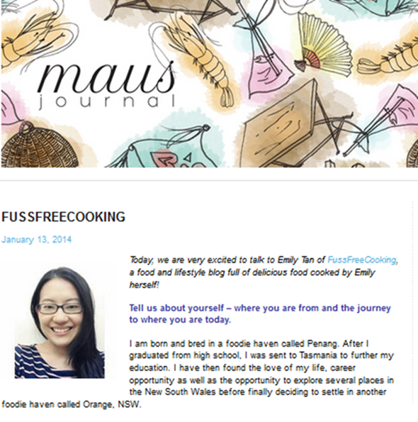 MAUSJOURNAL FEATURE