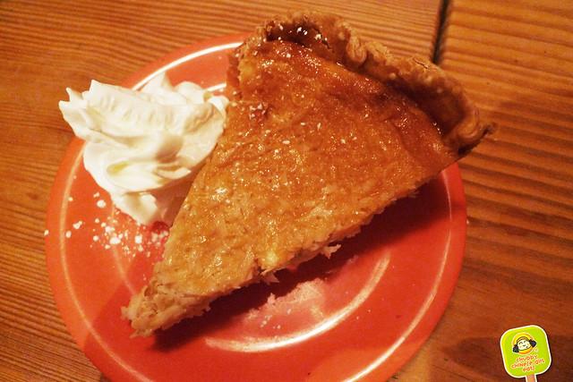 fatta cuckoo - dessert - coconut creme pie