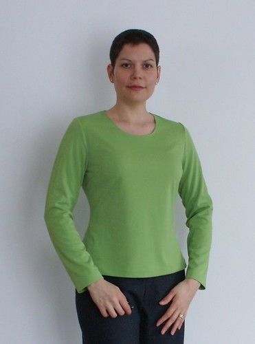 Green top neckline