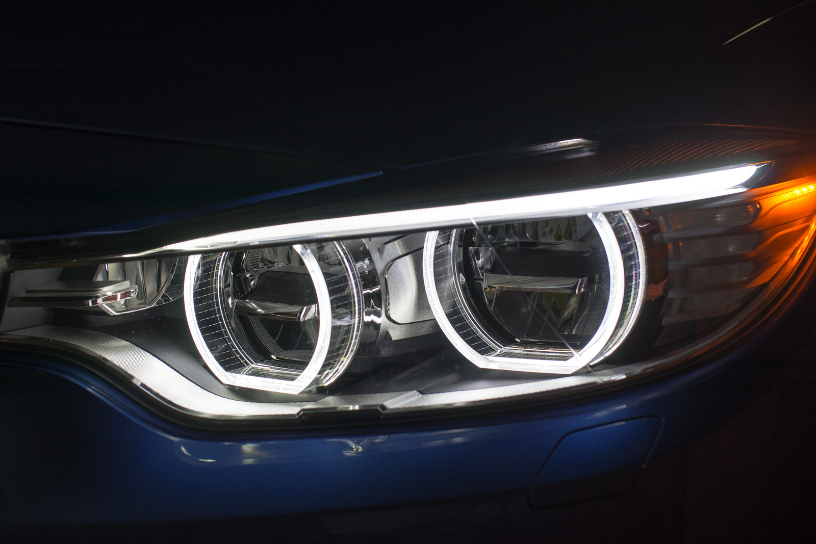 What Are Those 3 Small Led Amber Lights On The F32