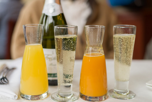 Brut, Pineapple and Passion Fruit Juices