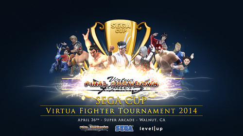 Virtua Fighter 5 Final Showdown SEGA Cup 2014